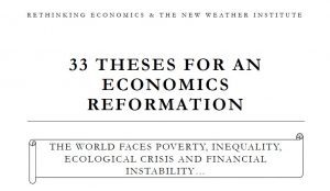 the new reformation theses for an economics reformation new  five hundred years ago in europe a single belief system dominated all public discourse catholic christianity those held to be experts in this set of