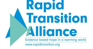 Welcoming the Rapid Transition Alliance – evidence-based hope in a warming world